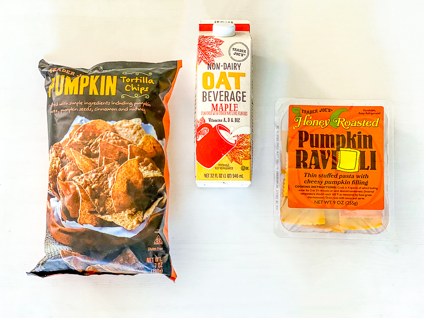 Trader Joe's Fall Favorites