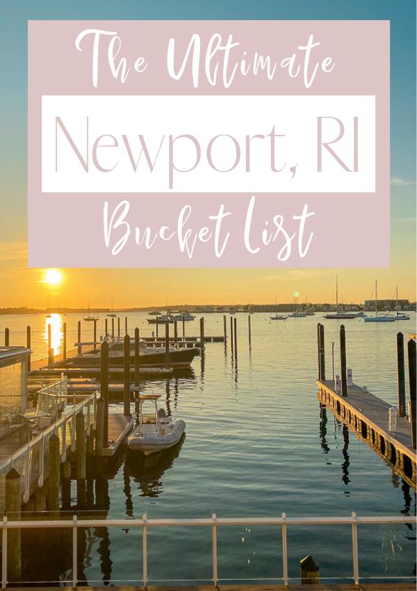 Newport Bucket List